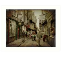 The Shambles, York, UK Art Print