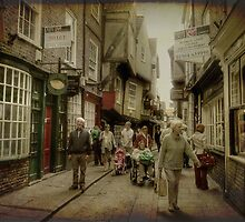 The Shambles, York, UK by Elaine Teague