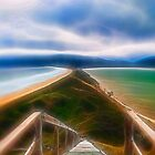 The 'Neck' Steps - Bruny Island, Tasmania by Step9