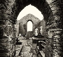 Old Irish Burial Site in Ennistymon, County Clare, Ireland by upthebanner