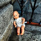 Abandoned doll by Roxy J