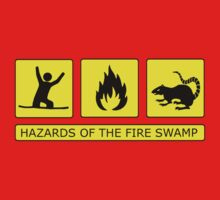 Hazards of The Fire Swamp Kids Clothes