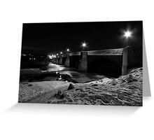 Corbridge Bridge Greeting Card