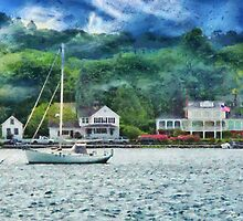 Transportation - Boat - Mystic CT - A good day to sail by Mike  Savad