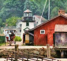 Transportation - Wagon - Mystic CT - Life at Mystic by Mike  Savad