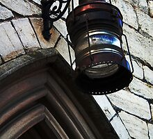 Old lamp, Mariners chapel, Gloucester docks, UK by buttonpresser