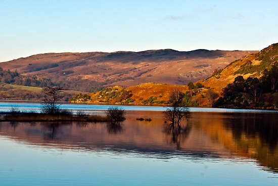 Calm Day on Ullswater by Trevor Kersley