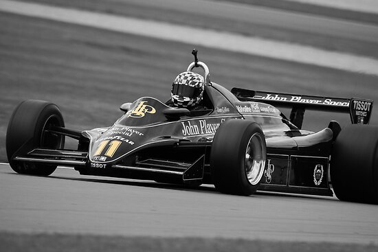 Lotus 82 - Donington Park - 2010 by MSport-Images