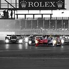 The Start of the 1000km of Silverstone 2010 by MSport-Images
