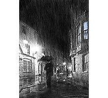 Umbrella Man Photographic Print
