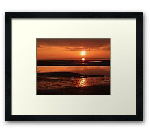 Sunset at Clevelyes Framed Print