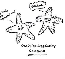 Starfish Inferiority Complex by Ollie Brock