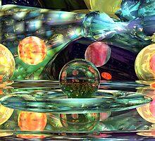 Abstract Lemon - Lime Anybody? by Sazzart