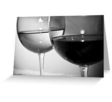 Wine 3 Greeting Card