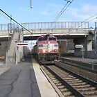 1124 MBTA Commuter Rail by Eric Sanford