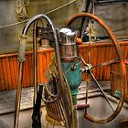 at the helm by pdsfotoart