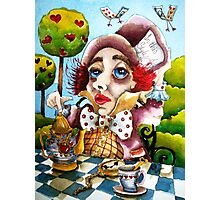 The Mad Hatter - time for tea Photographic Print