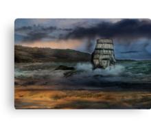 High Seas.  Canvas Print