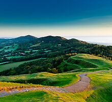 Malvern Hills Sunrise by Chris Tarling