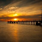St Kilda Pier by Ian Stevenson