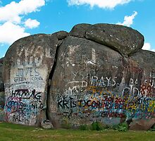 Thunderbolts Rock, Uralla, NSW by John Banson