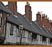 """ The Historical Houses of Stratford"" by mrcoradour"