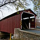 Landis Mill Covered Bridge by Yvonne Roberts