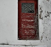 Portugese door by recuerofotos