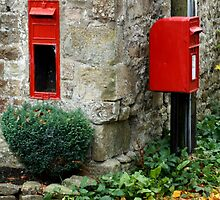 The Red Post Box by Mat Robinson