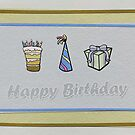 Birthday Card 4 by Tanja Udelhofen