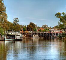 The Port of Echuca (1) by Christine Smith