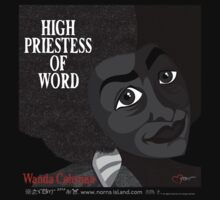 HIGH PRIESTESS OF WORD by norncutson