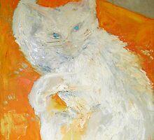 My cat Bella by Stella  Shube As
