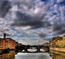 Florence Bridge by Kathryn Wheeler