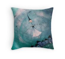 Reaching new heights Throw Pillow