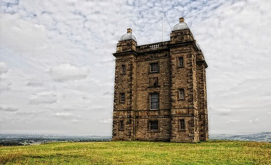 Tower. Lyme Park by Karen  Betts
