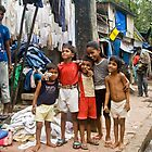 Street Kids of Mumbai by Cole Stockman