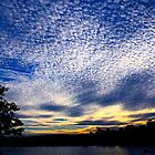 Magic Clouds - West Lake, Robina, Australia by Cheryl Sterkenburg