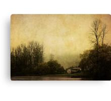 Farmhouse on the Lake Canvas Print