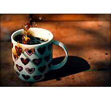 Coffee Love Photographic Print