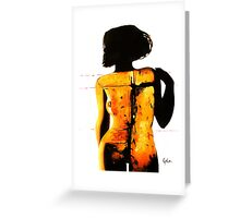 Afterword Greeting Card
