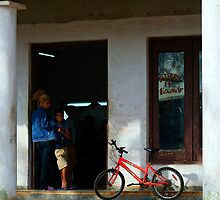 Waiting at the Barbers, Vinales, Cuba by buttonpresser