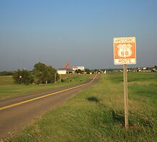 Route 66 - Oklahoma by Frank Romeo