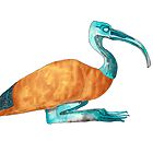 Egyptian Ibis Casket by Donna Nicholson Arnott