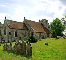 St George's Church, Arreton by Rod Johnson