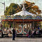 Carousel de la Tour Eiffel by Gayle Dolinger