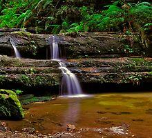 Terrace Falls #1 by VanceRoyce