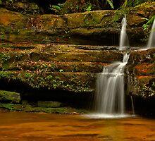 Terrace Falls #5 by VanceRoyce