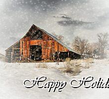 Happy Holidays by Barbara  Brown