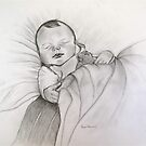Baby Noah  sleeping   by vickimec
